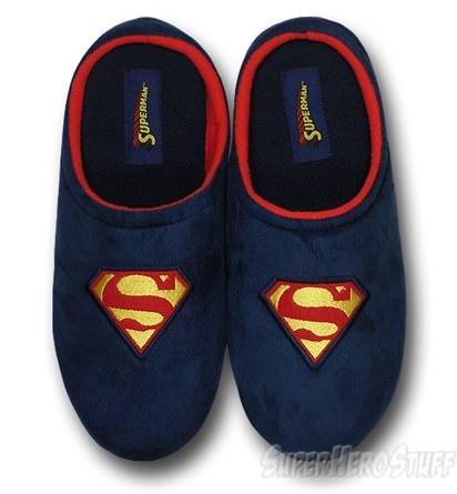 Superman Polar fleece slippers