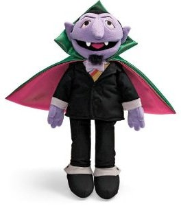 Sesame Street The Count Plush Doll