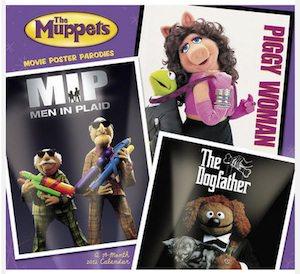 The Muppets 2012 wall Calendar