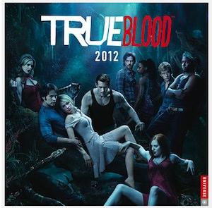 True Blood 2012 wall calendar