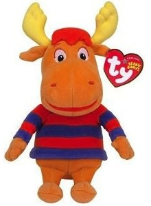 backyardigans  tyrone beanie baby plush toy