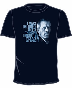 Great funny t-shirt of House md