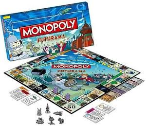 Futurama Monopoly