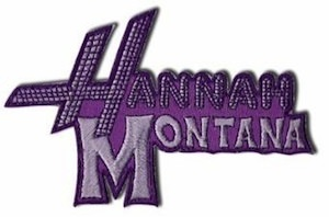 Miley Cyrus / Hannah Montana Patch