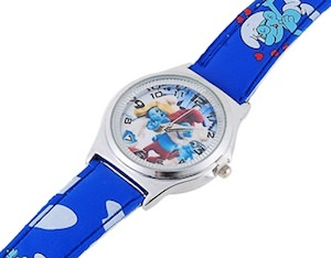 The Smurfs wrist watch