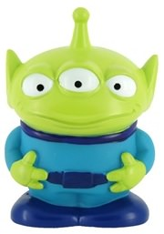 Alien piggy bank for the toy story fans