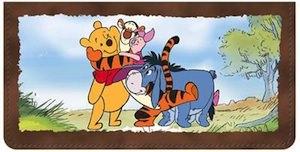 Winnie The Pooh Checkbook cover