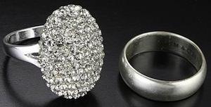 Bella Swan Wedding Band And Engagement Ring
