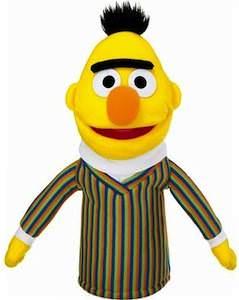 Sesame Street hand puppet of Bert