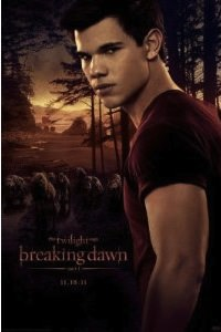 Jacob Black on this Breaking Dawn movie poster