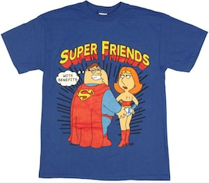Family Guy Super Friends T-Shirt