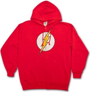 DC Comics Flash Full Zipper Hoodie