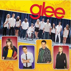Glee 2012 wall calendar