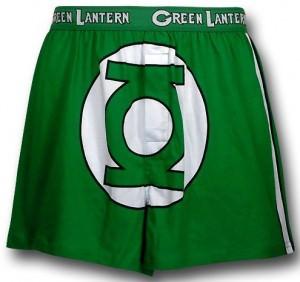 Green Lantern Boxer Shorts