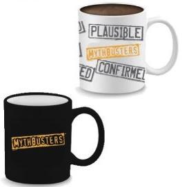 Mythbusters heath sensitive mug
