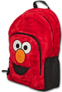 Furry Emo Backpack from Sesame street