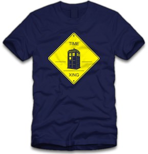 Doctor Who Tardis Time Crossing t-shirt