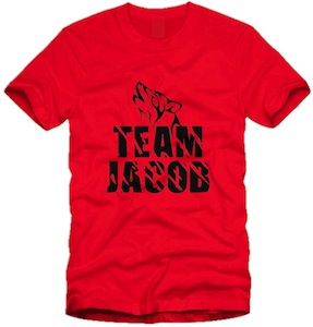 Twilight Team Jacob Wolf T-shirt