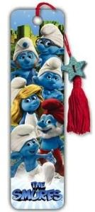 The Smurfs bookmark