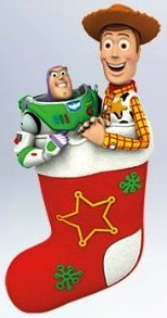 Toy Story Christmas Ornament with Buzz and Woody