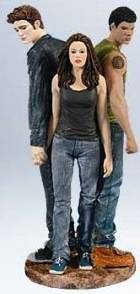 Twilight Christmas ornament with Edward cullen, Bella Swan and Jacob Black