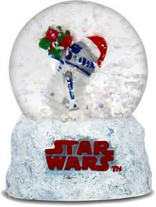 R2D2 Star Wars Snow Globe