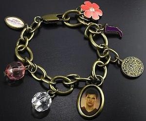 Twilight Breaking Dawn Jacob charm bracelet