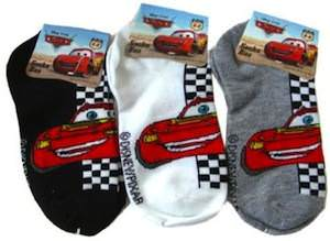 Cars 2 lightning McQueen Socks