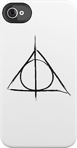 Harry Potter and the Deathly Hallows Symbol iPhone / iPod Touch Case