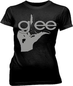Glee Hand Black t-shirt