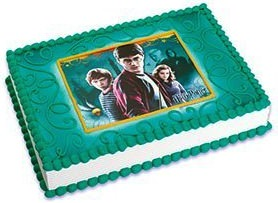 Harry Potter picture cake topper