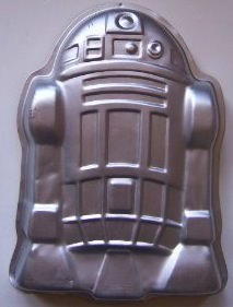 Star Wars R2D2 Robot cake pan