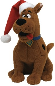 ty Scooby-Doo beanie baby Christmas Plush