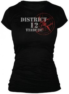 Distric 12 trubute t-shirt from the Hunger Games