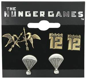 3 pair of Hunger Games earrings