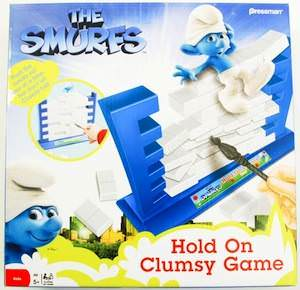 Clumsy Smurf boardgame