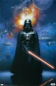 Darth Vader Framed Poster