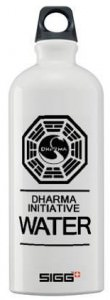 "Lost Dharma Initiative ""Water"" Sigg Water Bottle"