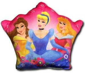 Disney Princess crown shaped pillow