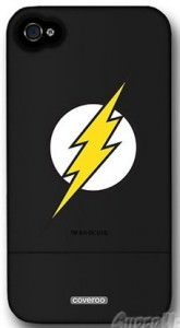 Flash Symbol iPhone 4 & 4S Slider Case