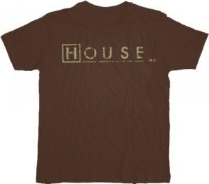 House M.D. Logo Script T-shirt