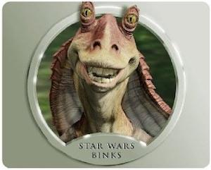 Star Wars jar Jar Binks Mousepad