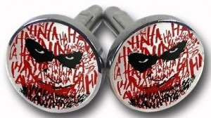 Joker Batman Dark Knight Cufflinks