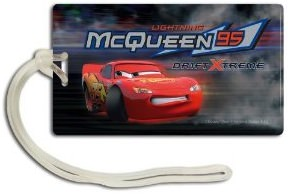 Cars Lightning McQueen Luggage Tag