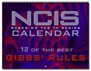 NCIS Wall Calendar 2012