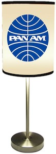 Pan Am Logo Lamp