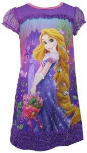 Disney Tangled Rapunzel and Pascal Nightgown for girls
