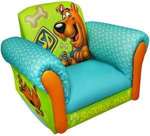 Scooby-Doo kids rocking chair