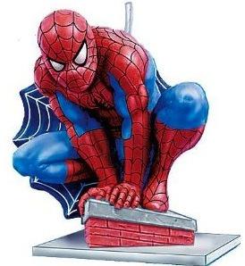 Spider-Man birthday candle