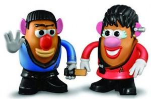 Star Trek Spock And Lt. Uhura Mr Potato Heads